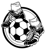 Soccer Ball And Feet Decal Sticker