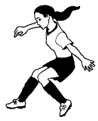 Soccer Girl 2 Decal Sticker
