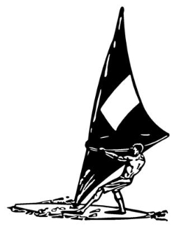 Windsurfer v2 Decal Sticker