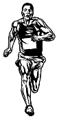Runner Male v2 Decal Sticker