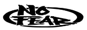 No Fear Oval Decal Sticker