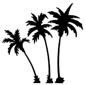 Palm Trees v2 Decal Sticker