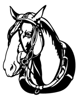 Horse Head v7 Decal Sticker