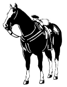 Standing Horse Decal Sticker