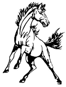 Wild Horse Decal Sticker