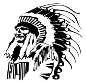 Indian Chief v2 Decal Sticker