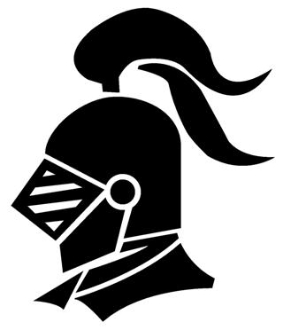 Knight Helmet v1 Decal Sticker