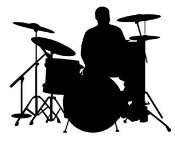 Drummer Decal Sticker