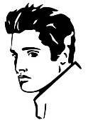 Elvis Decal Sticker