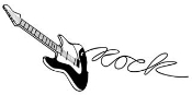Guitar v2 Decal Sticker