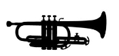 Trumpet Decal Sticker