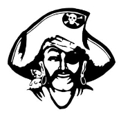 Pirate 4 Decal Sticker