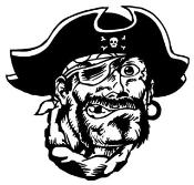 Pirate 13 Decal Sticker