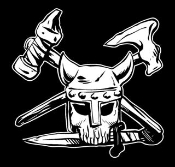 Viking Skull v1 Decal Sticker