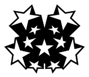Star Design v2 Decal Sticker