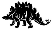 Stegosaurus Decal Sticker
