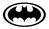 Batman v1 Decal Sticker