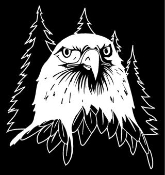 Eagle Head v1 Decal Sticker