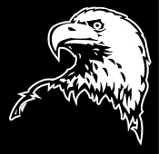 Eagle Head v2 Decal Sticker