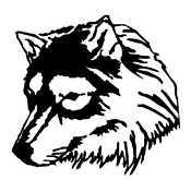 Wolf Head v2 Decal Sticker