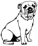Bulldog Decal Sticker