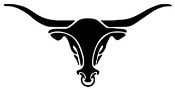 Bull Skull v6 Decal Sticker
