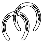 Horseshoes Decal Sticker
