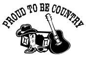 Proud To Be Country Decal Sticker