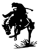 Saddle Bronc Decal Sticker