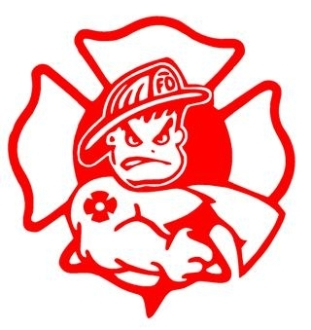 Bad Boy Fireman Decal Sticker