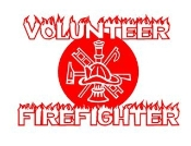 Volunteer Firefighter Decal Sticker