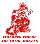 Walking Where The Devil Dances v2 Decal Sticker