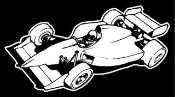 Indy Car 4 Decal Sticker