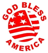 God Bless America Decal Sticker