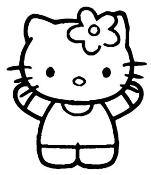Hello Kitty 3 Decal Sticker