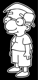 Millhouse Decal Sticker