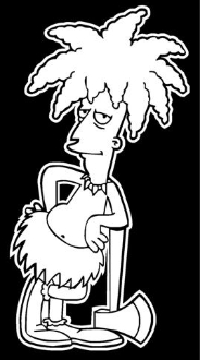 Sideshow Bob Decal Sticker