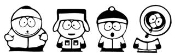 South Park Decal Sticker