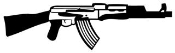 AK 47 Decal Sticker