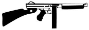Gun v3 Decal Sticker