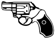Handgun v1 Decal Sticker