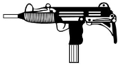 Mac 10 Decal Sticker