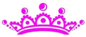 Tiara Crown v2 Decal Sticker
