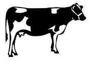 Cow v1 Decal Sticker