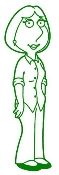 Lois Griffin Decal Sticker