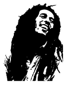 Bob Marley Decal Sticker