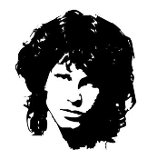 Jim Morrison Decal Sticker