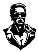 Terminator Decal Sticker