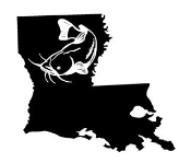 Louisiana Catfish Decal Sticker
