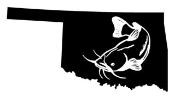 Oklahoma Catfish Decal Sticker